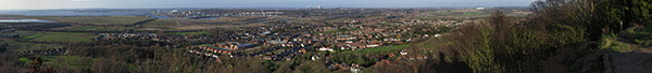 frodsham hill panoramic